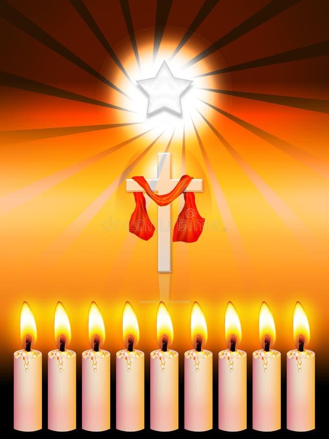 boże narodzenie gwiazda ilustracja wektor