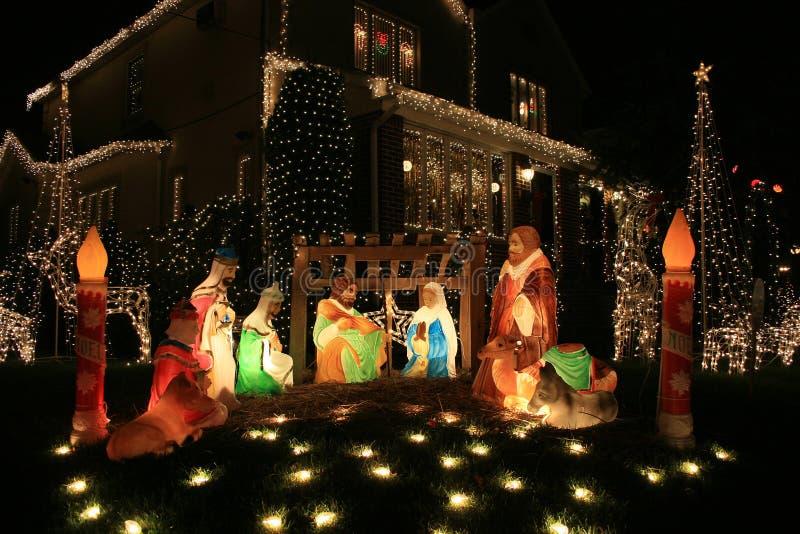 boże narodzenie Jezusa dekoracji obrazy stock