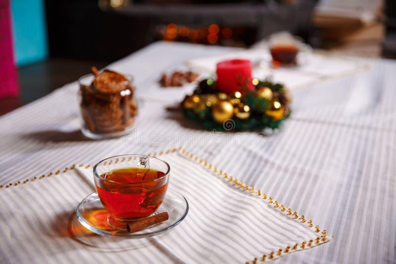 Boże Narodzenie materiał strzał robić z shalow głębią pole selekcyjny obrazy royalty free