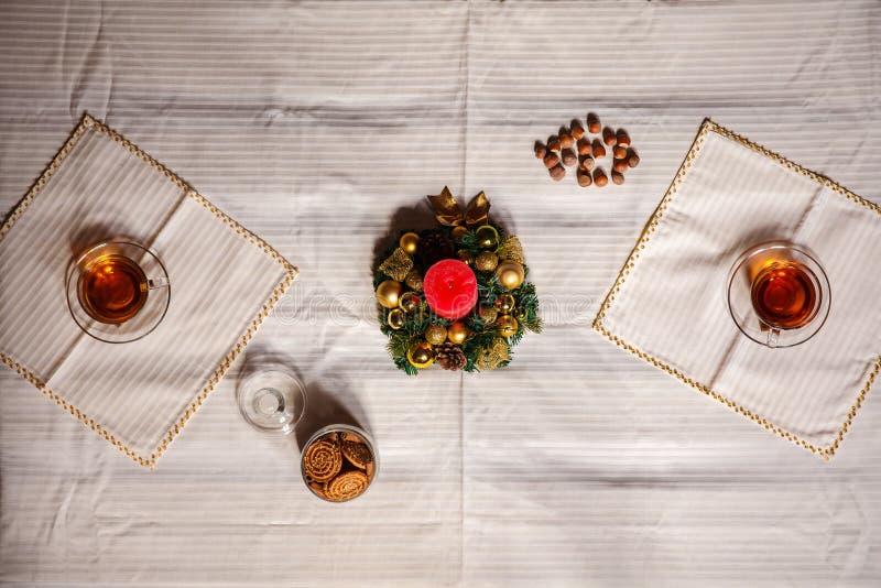 Boże Narodzenie materiał strzał robić z shalow głębią pole selekcyjny fotografia royalty free