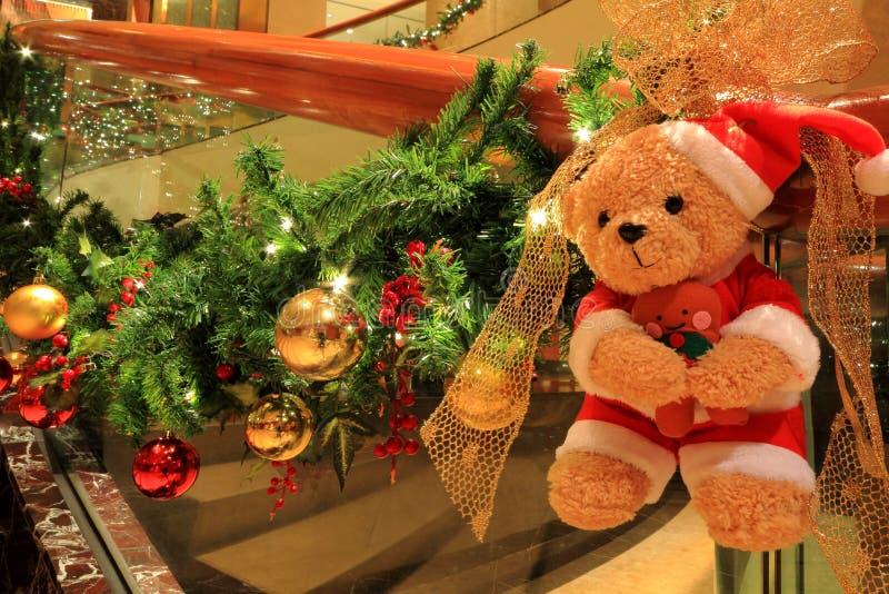Boże Narodzenie niedźwiedź obrazy stock