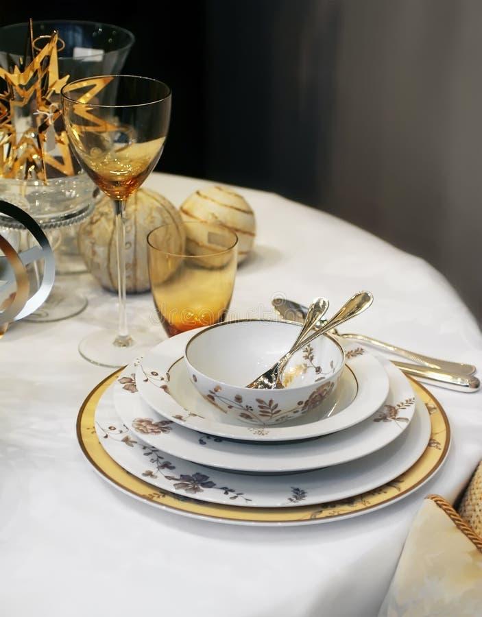 boże narodzenie obiad zdjęcia royalty free