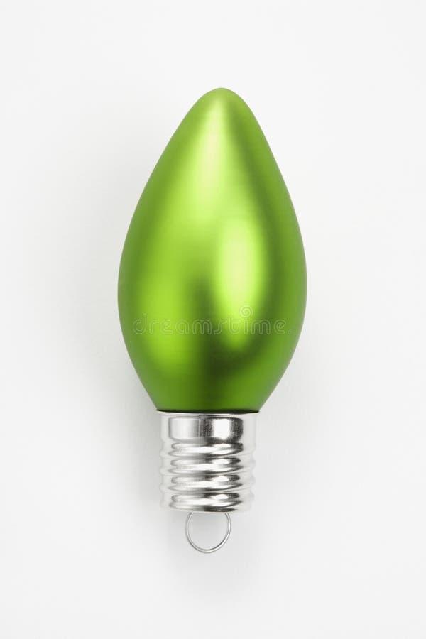boże narodzenie ornament zielone fotografia stock