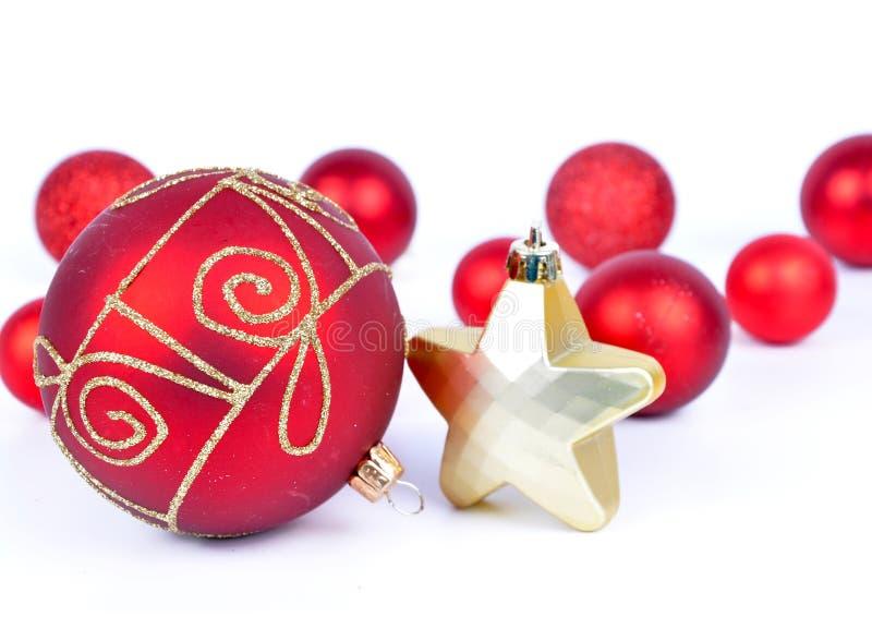Boże Narodzenie ornamentu tło, zdjęcie stock
