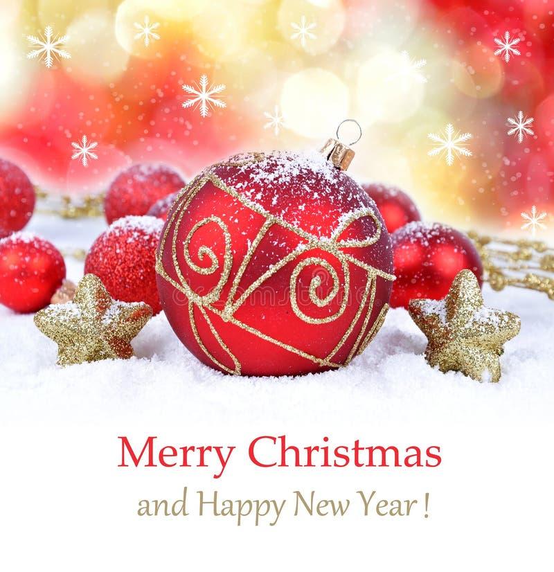 Boże Narodzenie ornamentu tło, obraz stock