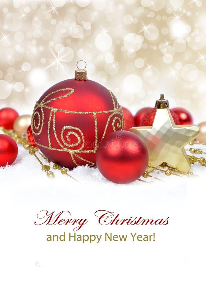 Boże Narodzenie ornamentu tło, zdjęcia royalty free