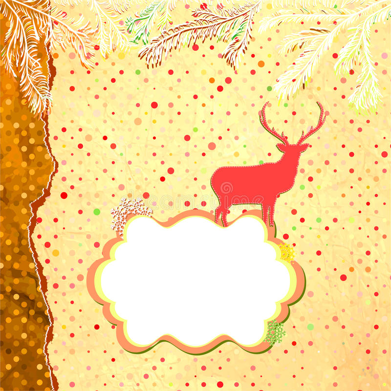 Boże Narodzenie ornamenty robić od płatków śniegu. EPS 8 royalty ilustracja