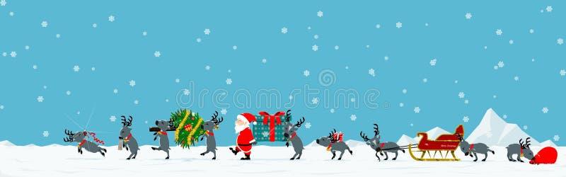 Boże Narodzenie parada zdjęcie stock