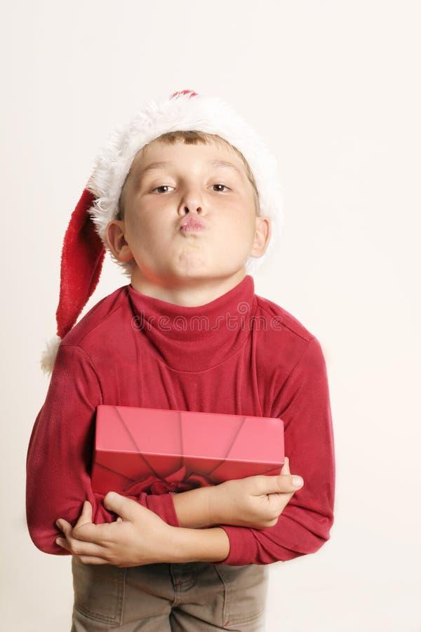 Download Boże narodzenie pocałunek obraz stock. Obraz złożonej z buziak - 46023