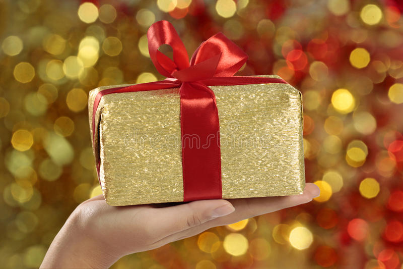 boże narodzenie prezent fotografia stock