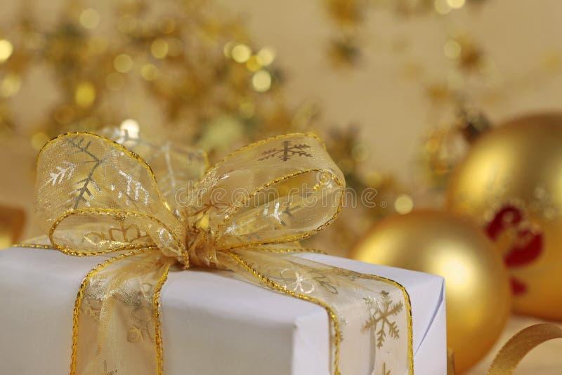 boże narodzenie prezent obraz royalty free