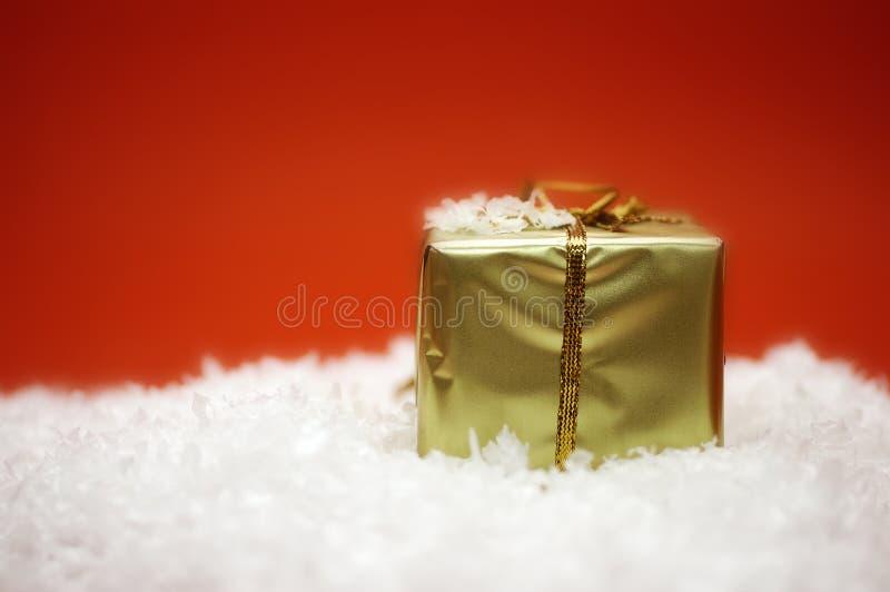 boże narodzenie prezent zdjęcia royalty free