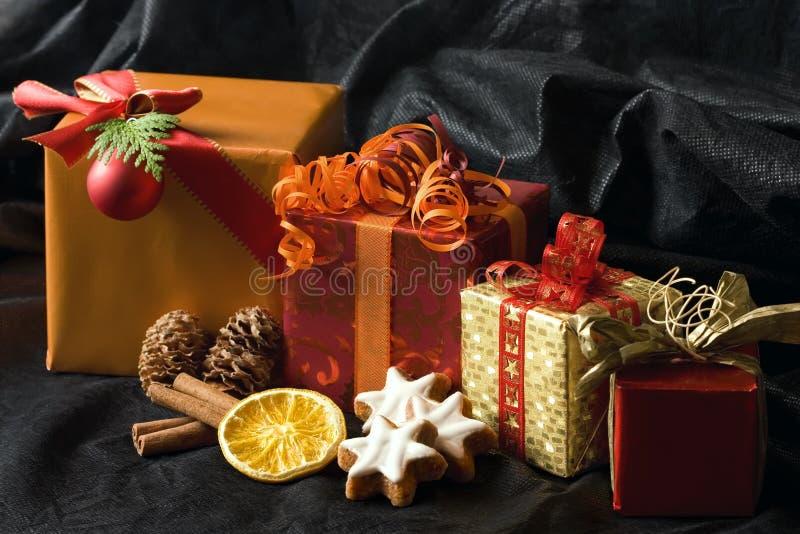 boże narodzenie prezenty zdjęcie stock