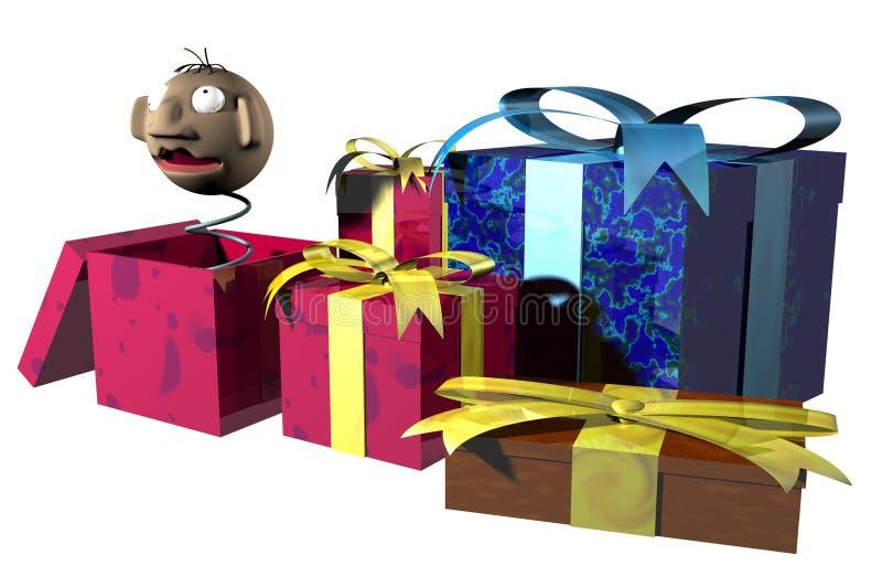 boże narodzenie prezenty zdjęcia royalty free