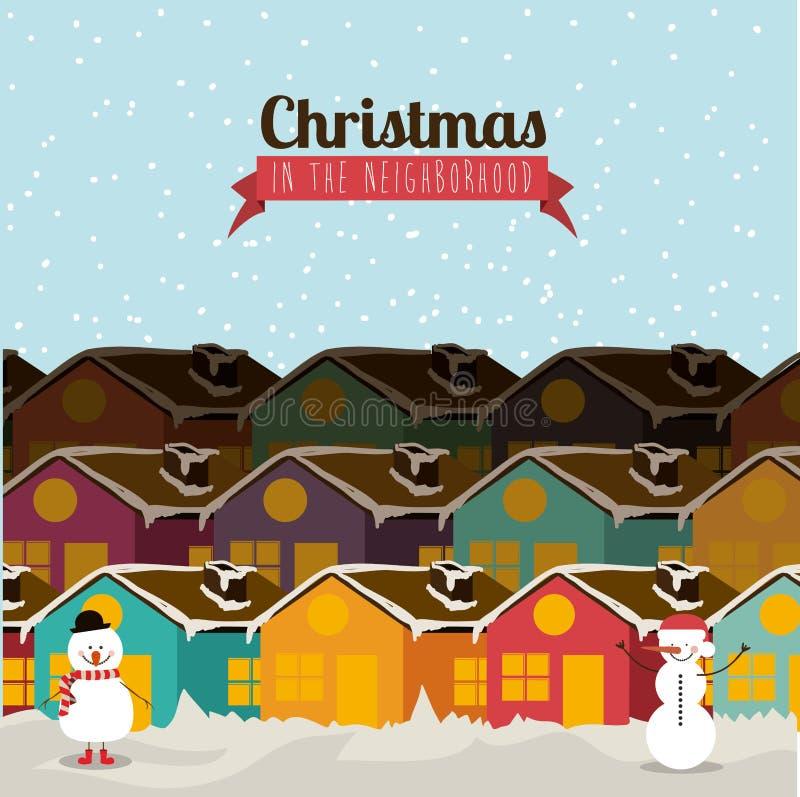 Boże Narodzenie projekt ilustracja wektor