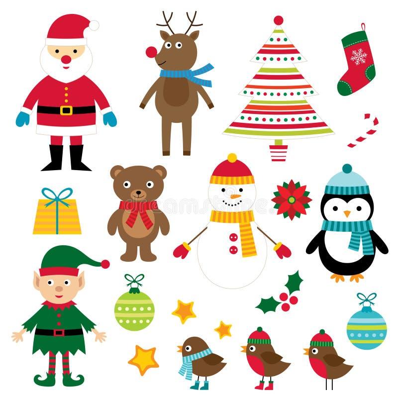 Boże Narodzenie projekta elementy royalty ilustracja
