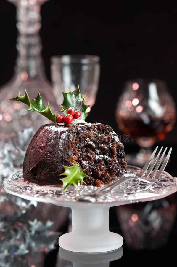 boże narodzenie pudding zdjęcie royalty free
