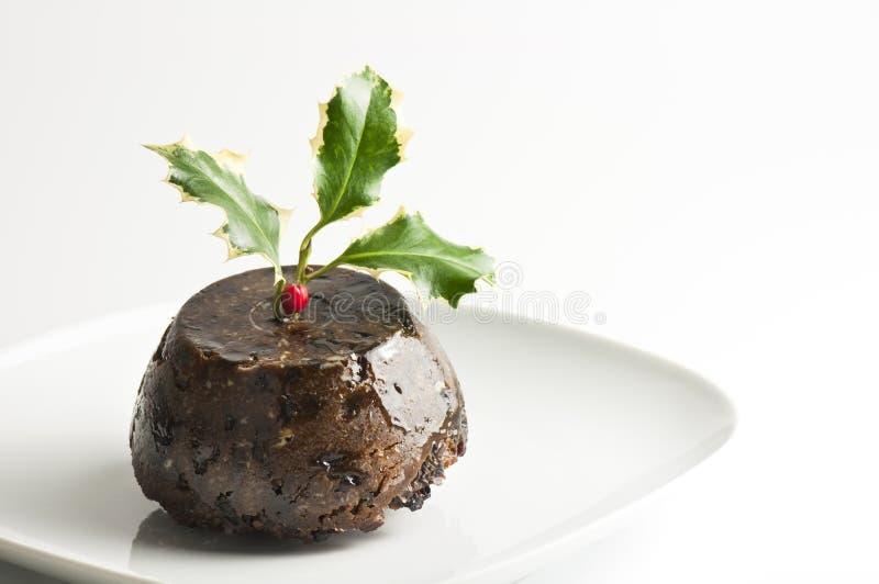 boże narodzenie pudding fotografia stock