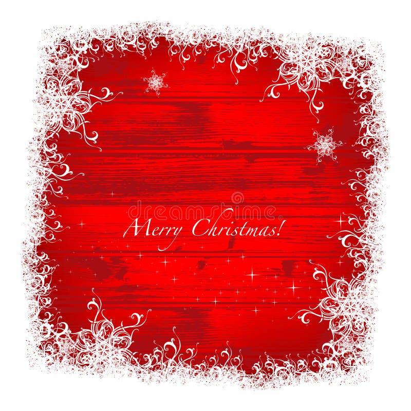 Boże Narodzenie rama ilustracja wektor