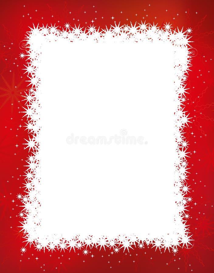 Boże Narodzenie rama ilustracji