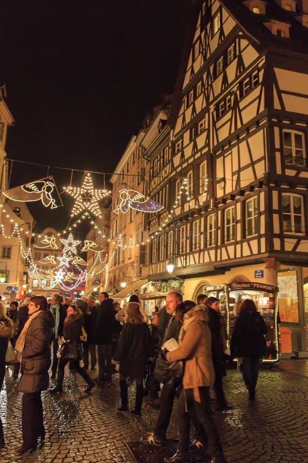 Boże Narodzenie rynek zdjęcia stock