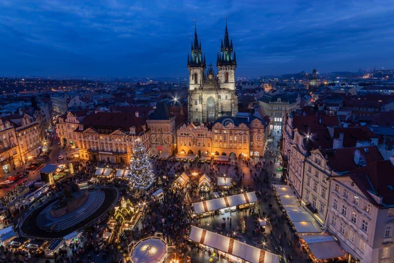 Boże Narodzenie w Pradze obraz royalty free