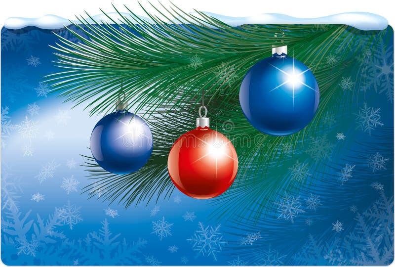 Boże Narodzenie zabawki ilustracyjne ilustracja wektor