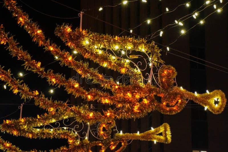 Bożenarodzeniowa anioł dekoracja obraz royalty free