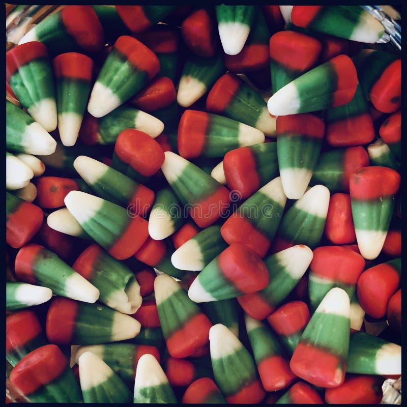 Bożenarodzeniowa cukierek kukurudza zdjęcia stock