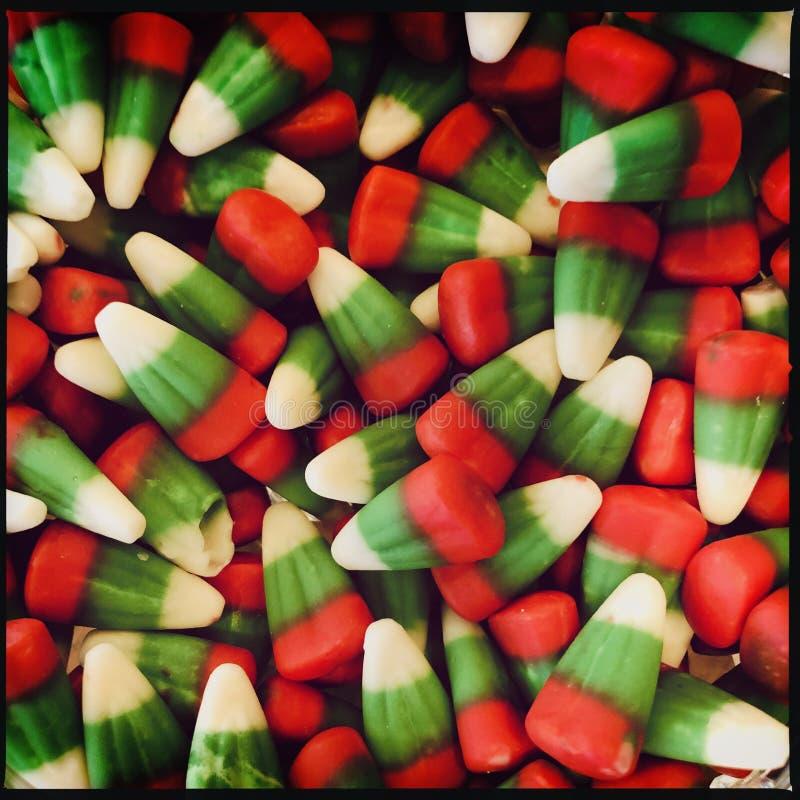 Bożenarodzeniowa cukierek kukurudza obrazy stock