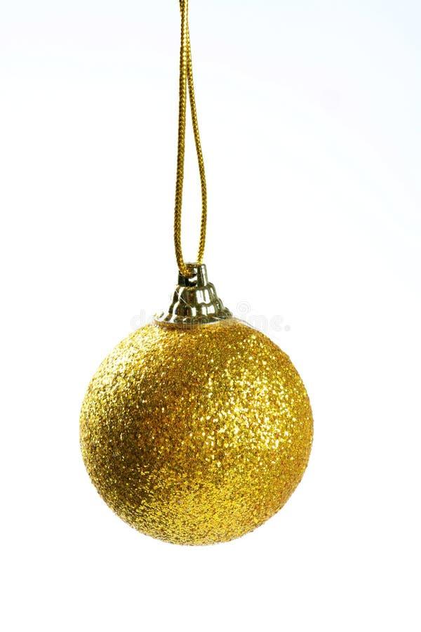 Bożenarodzeniowa dekoraci piłka zdjęcie stock
