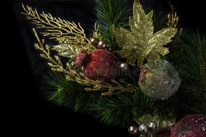 Bożenarodzeniowa dekoracja i ornamenty zdjęcie royalty free