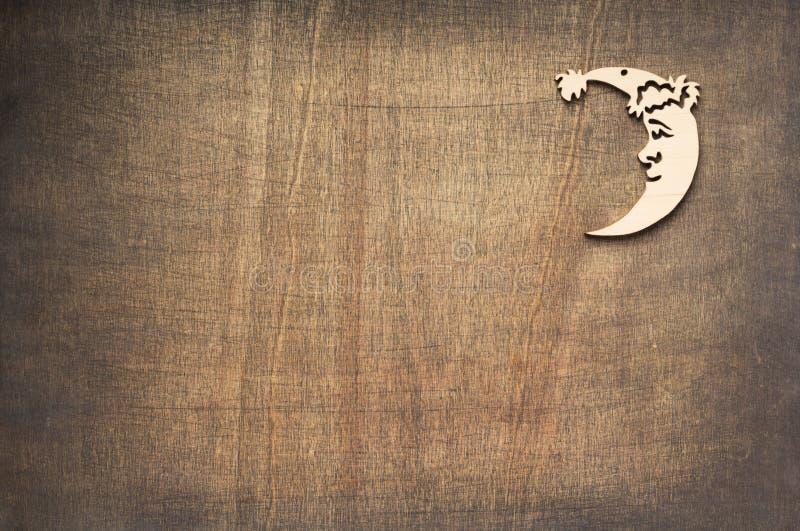 Bożenarodzeniowa dekoracji księżyc zabawka zdjęcie stock