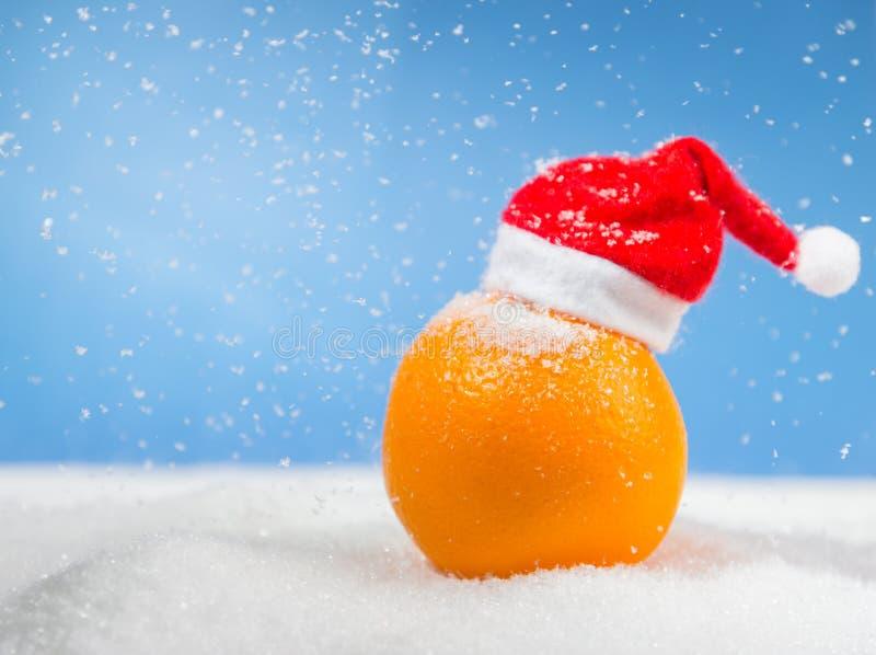 Bożenarodzeniowa pomarańcze zdjęcie royalty free