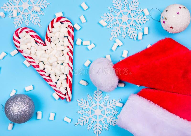 Bożenarodzeniowe cukierek trzciny zdjęcia royalty free