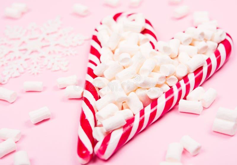 Bożenarodzeniowe cukierek trzciny obraz royalty free