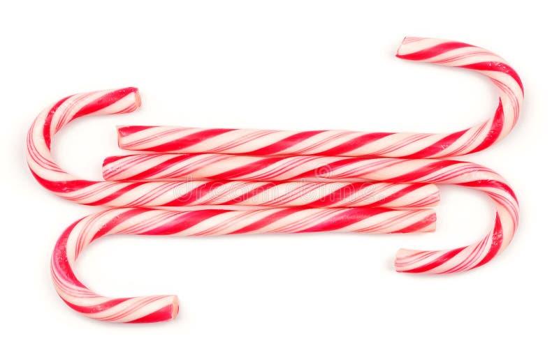 Bożenarodzeniowe cukierek trzciny obraz stock