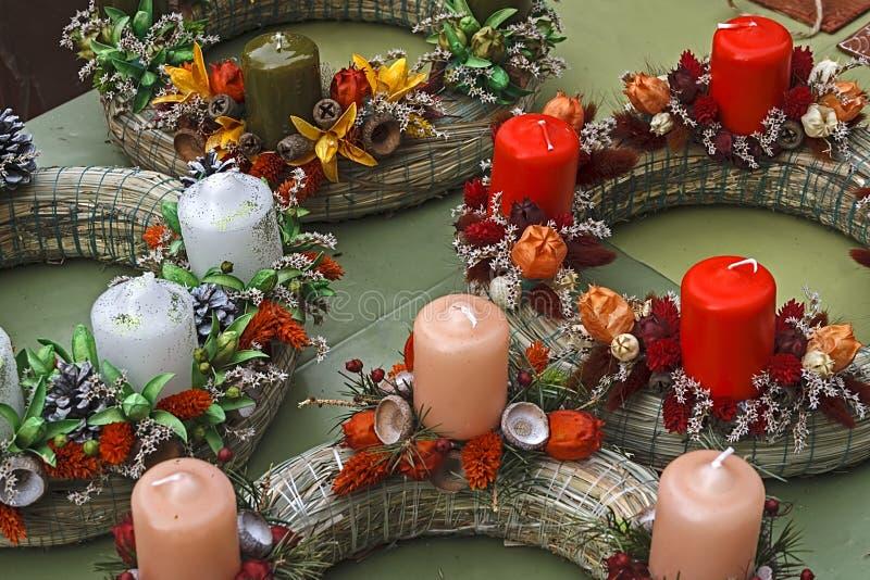 Bożenarodzeniowe dekoracje 11 fotografia stock
