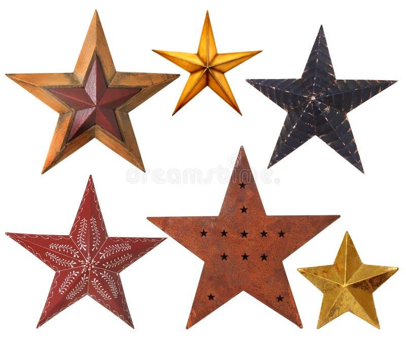 Bożenarodzeniowe gwiazdy zdjęcie stock