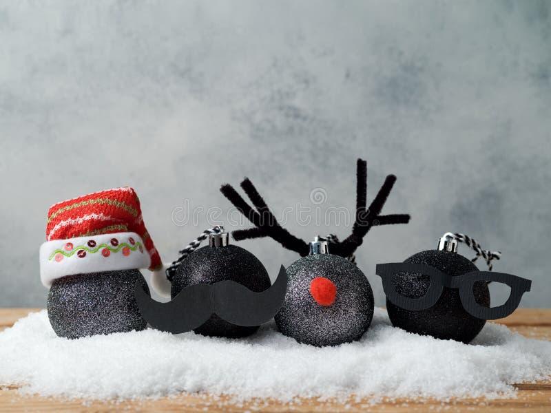 Bożenarodzeniowe wakacyjne baubles dekoracje obraz stock