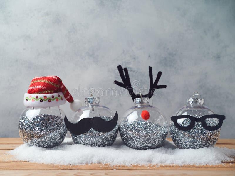 Bożenarodzeniowe wakacyjne baubles dekoracje zdjęcia stock
