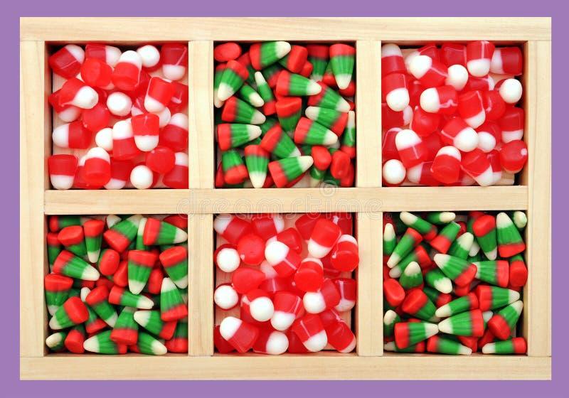 Bożenarodzeniowi cukierki obraz stock