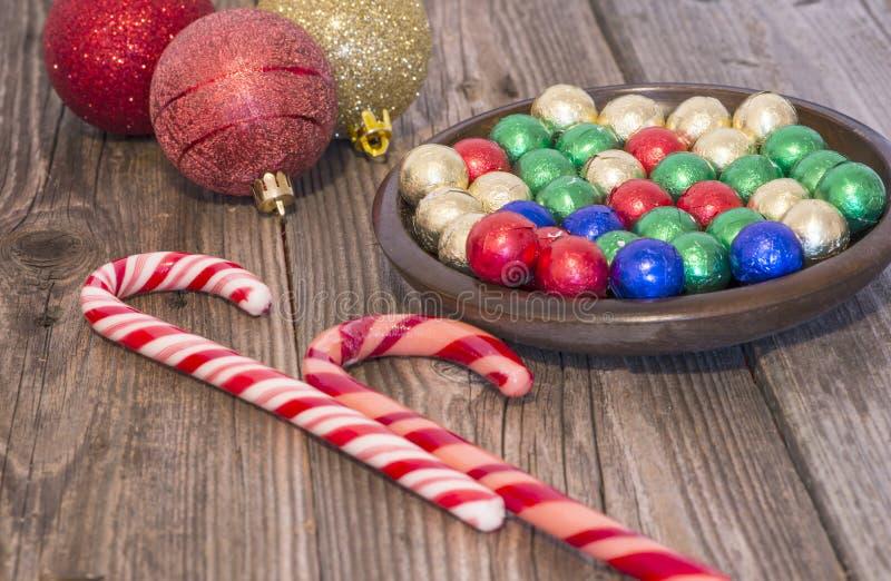 Bożenarodzeniowi cukierki zdjęcie royalty free