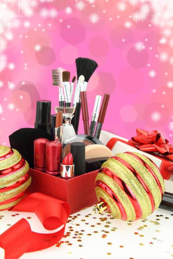 Bożenarodzeniowi kosmetyki zdjęcia stock