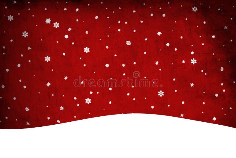 Bożenarodzeniowy śnieg. Sztuka fotografia stock