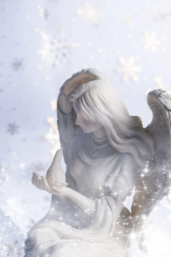 Bożenarodzeniowy anioł obrazy royalty free
