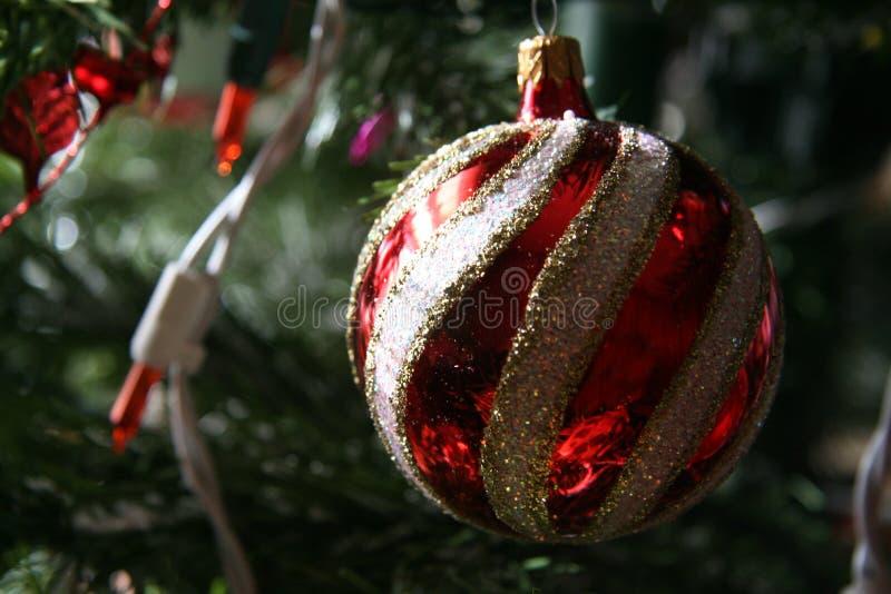 Bożenarodzeniowy Balowy ornament obrazy stock