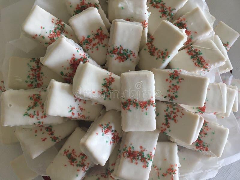 Bożenarodzeniowy ciastko pokaz zdjęcia stock