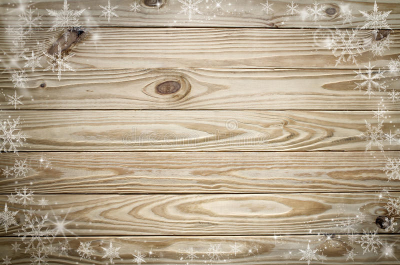 Bożenarodzeniowy drewniany i fotografia stock