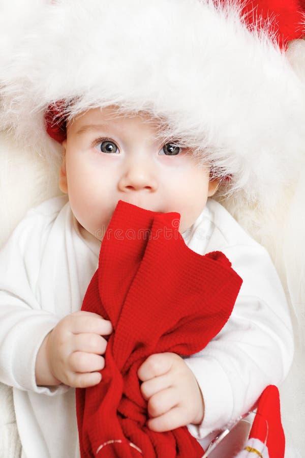 Bożenarodzeniowy dziecko fotografia royalty free